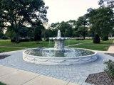 De natuurlijke Marmeren Fontein van het Standbeeld van de Tuin van het Water van het Graniet van de Steen Snijdende Decoratieve