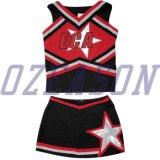 2015 Venta de Cheerleading caliente la sublimación de la escuela vestido de uniforme, Chica porrista Dress