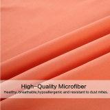Jogo Home escovado do fundamento de matéria têxtil de Microfiber