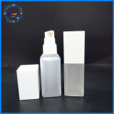 Kundenspezifische starke Lotion-quadratische Plastikflasche des Haustier-100ml