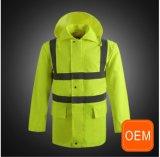 ポケットが付いているOEMの警備員のこんにちは気力のベスト、構築安全ベスト