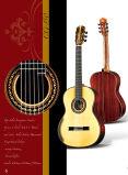 Гитара Handmade испанского Nylon шнура твердая верхняя классическая