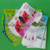 Manchon rétractable PVC personnalisé pour l'étiquette du flacon, la qualité de Higt