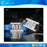 Одиночным дешевым изготовленный на заказ сплетенный празднеством Wristband ткани RFID для случаев