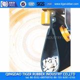 Banda transportadora de goma con Rasgar-Resistente para el caucho de la banda transportadora del tubo del material a granel