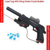 Etiqueta de láser de 600ft con disparos de bala cristales de agua, viven Pubg juego batalla láser de infrarrojos