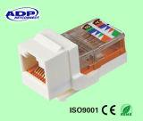 8p8c Schakelaar van de Adapter Cat5e van de Stop van UTP RJ45 de Goud Geplateerde