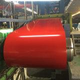 Bobina de acero del cinc de Prepanited del color de SGCC Ral9003 para el mercado de Turkmenistan