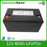 Tiefes Cycle 12V 80ah Li-Ion Battery für Solar Energy Storage