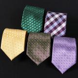 Les hommes de Cravate Cravate bleu rayé positive d'affaires BZ0003