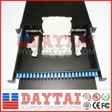 12-144 montage sur bâti Drawer Type 24 Port ODF de la fibre optique ODF de noyau à vendre