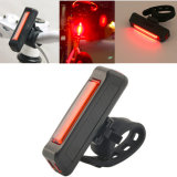 Vente en gros Customized Amazon Bicycle Light USB Rechargeable 120lm 4 Mode Professional Tail Bike Rear Light