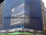 메시 직물 (1000X1000 9X9 370g)를 인쇄하는 PVC 메시 기치 디지털