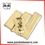 Venda por grosso de bambu chinês paus para os frutos churrascos