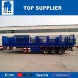 タイタンの手段-半半容器輸送のトレーラーの塀のトレーラーの貨物