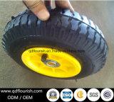 Le rotelle gonfiabili del carrello colpiscono la rotella di gomma pneumatica 10 pollici
