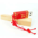 Nova Unidade Flash USB de cerâmica Chinese Red Blessing U Disk