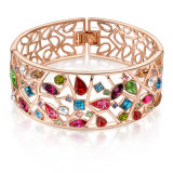 Open Wholesale Ladies Zinc Alloy Jewelry Bracelet Bangle