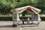 وقت فراغ فناء استعمل حديقة [فوور-ست] أرجوحة كرسي تثبيت مع الخيمة