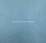 Cuoio di Microfiber di alta qualità del reticolo di Lichee per il sofà