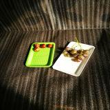 Dienblad van het Fruit van de Rang van het Voedsel van Custtomed het Kleurrijke Beschikbare pp Plastic