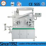 Digite a etiqueta de tecido Fita de poliéster Flexo máquina de impressão