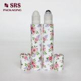 SRS 15ml Lotion balle de rouleau en plastique vide bouteille personnalisé