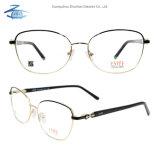 La Chine de bonne qualité de gros Fullrim Lunettes Les lunettes optiques en métal du châssis Lady Châssis avec Rhinestone