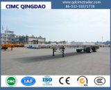 Lit Cimc 40pieds à plat des conteneurs de fret de camion semi-remorque semi-remorque de gros