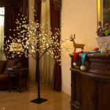 Noël artificiel d'éclairage extérieur Cherry Blossom a conduit arbre avec la lumière