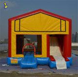 Комбинированный, Bouncer коммерческих надувной замок с прыгающими мячами баскетбол Hop B2054