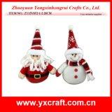 Venda por atacado do Natal do catálogo do Natal da decoração do Natal (ZY15Y093-1-2)