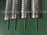 La pantalla de tubo de perforación/acero inoxidable tubo de perforación derrame
