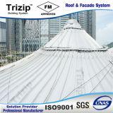 Comitato di alluminio del tetto dell'aggraffatura del sistema diritto del tetto