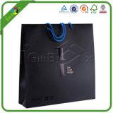Progettare il documento per il cliente stampato riciclano il sacchetto con il marchio dell'azienda