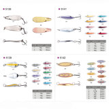 Low Price Wholesale Metal Trolling Fishing Spoon Lure