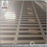 Plaque profondément repérée de l'acier inoxydable 304 pour le plancher d'escalator