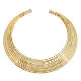 Argento di Wholsale Jewellry ed insiemi svegli dei monili di cc placcati oro