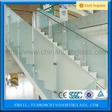 Замороженные кисловочные изготовления травленого стекла, синь бронзовой зелени цветов серая