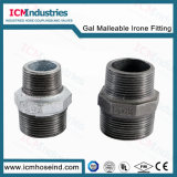 Raccord de tuyau de fer malléable galvanisé 120 45 Deg coude pour raccords de tuyaux de l'eau
