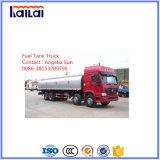 Sinotruk HOWO caminhão tanque de combustível 8X4 caminhão tanque de combustível