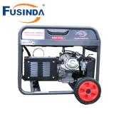 공기를 가진 5kVA 키/전기 시작 가솔린 휘발유 발전기 세트는 4 치기 머리 위 벨브 (OHV) 가솔린 엔진을 냉각했다
