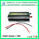 de los inversores de la potencia del convertidor de la red 3000W DC24V AC220V (QW-M3000)
