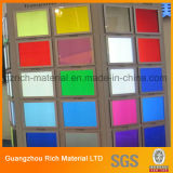 Strato di plastica acrilico di colore per illuminazione del LED/la scheda plexiglass del perspex