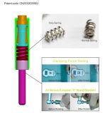 Het tand Titanium van de Apparatuur bedekte Stille Hoge snelheid TandHandpiece (J2) met een laag