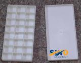 Wit Plastic Palet, het Schilderen Palet, het Palet van de Verf