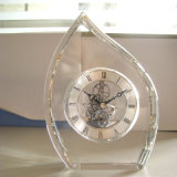 Nice Beautiful Crystal Desk Clock M-5161