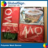 L'extérieur ou intérieur tissu Mesh Bannière promotionnelle