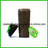 زاهية بلاستيكيّة بروتين رجّاجة زجاجة مع [سّ] كرة