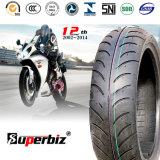 Nouveau OEM de 13 pouces 6pr Moto des pneus diagonaux en Nylon de dépression (pneus 130/60-13) avec l'ISO